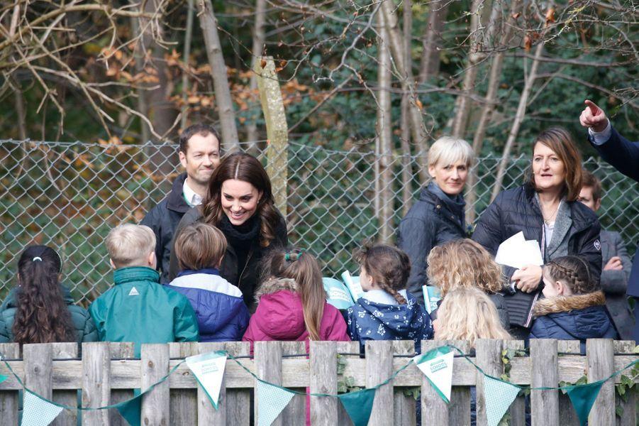 La duchesse de Cambridge à Londres, le 29 novembre 2017