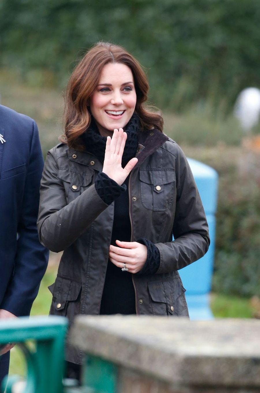 Kate Middleton à Londres, le 29 novembre 2017