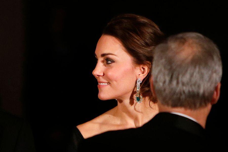 La duchesse Catherine de Cambridge à New York, le 9 décembre 2014