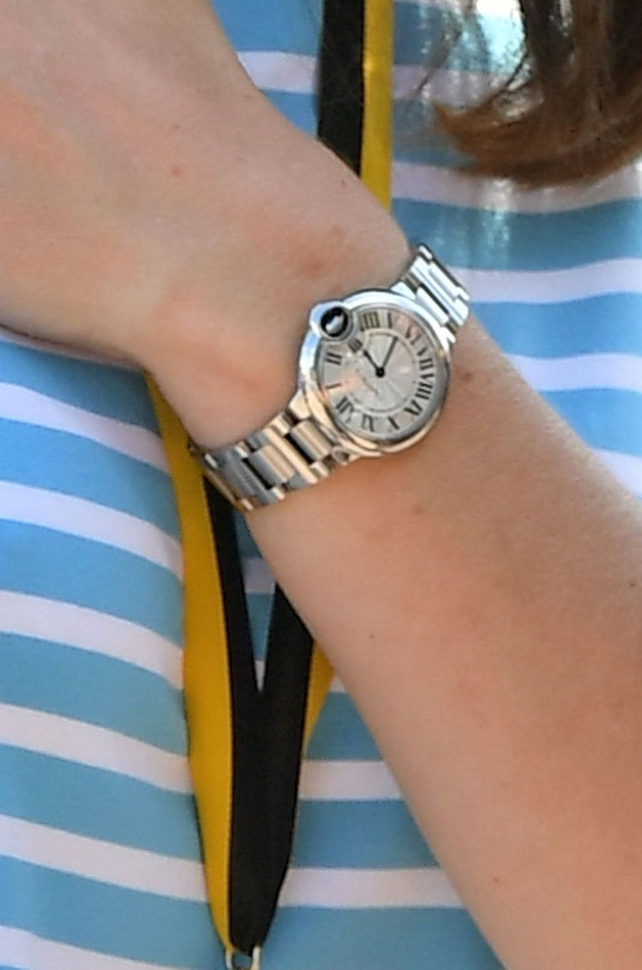 La montre Cartier de Kate, le 20 juillet 2017