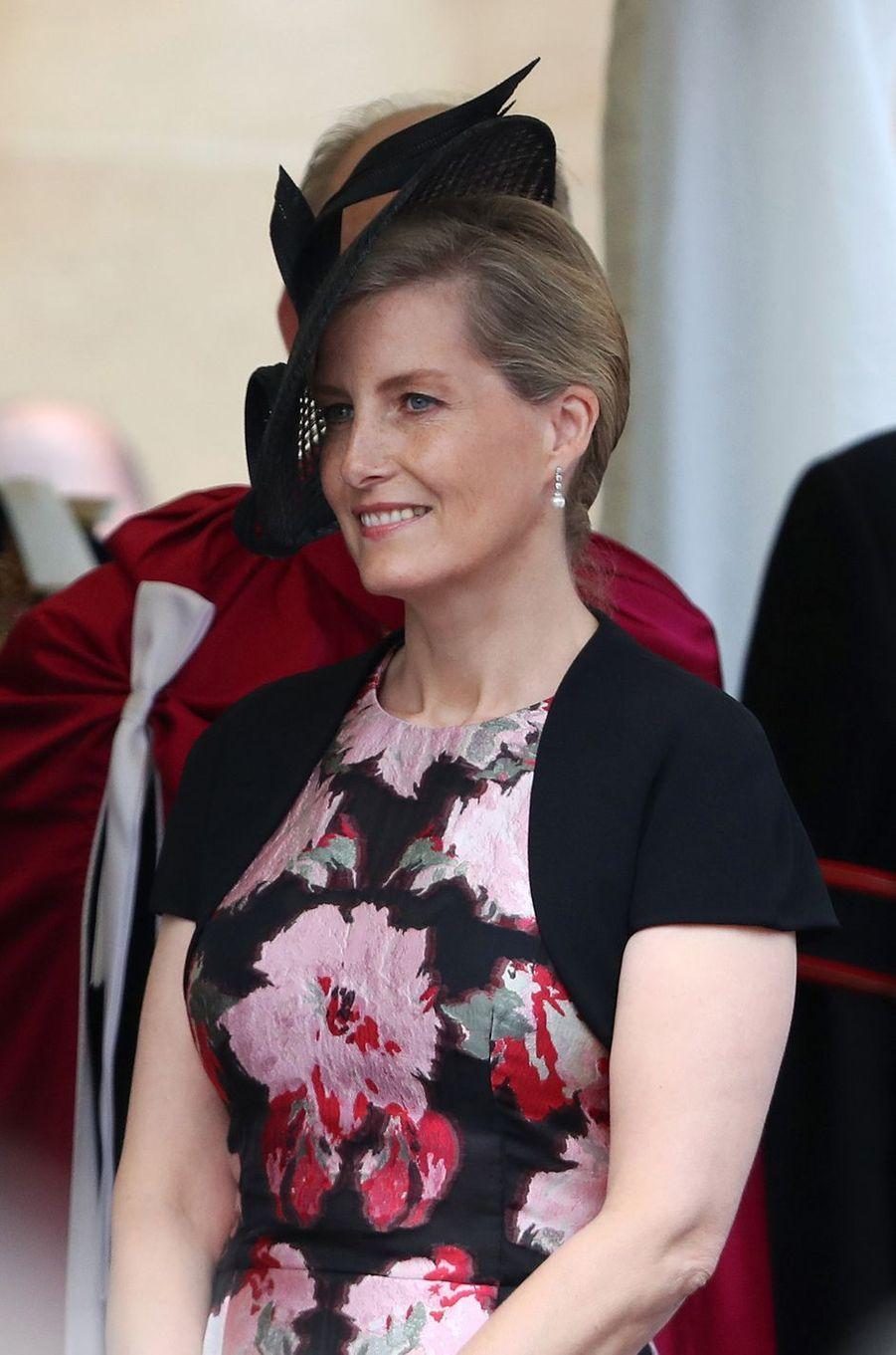 La comtesse Sophie de Wessex à Windsor, le 13 juin 2016