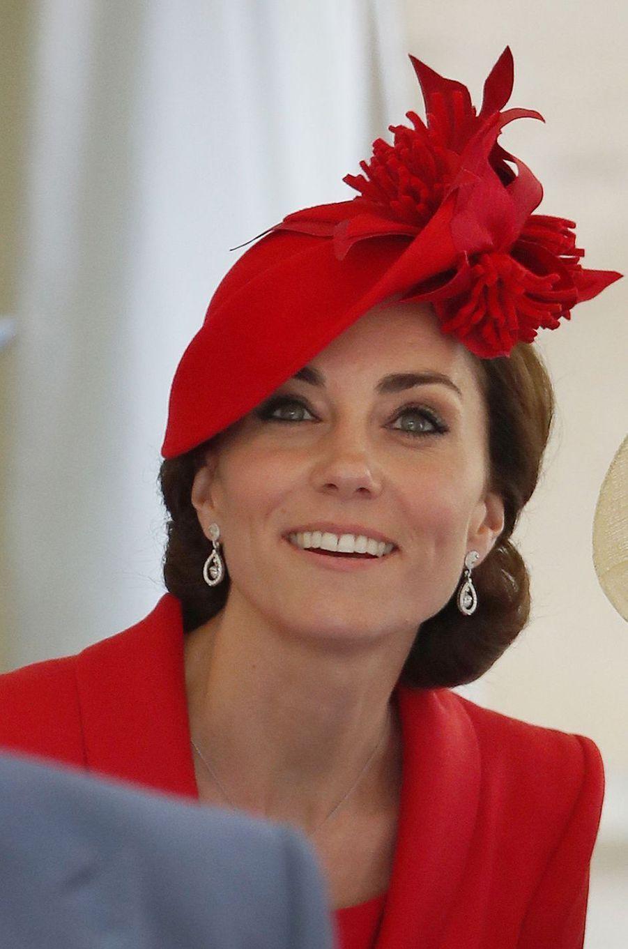 La duchesse Catherine de Cambridge à Windsor, le 13 juin 2016