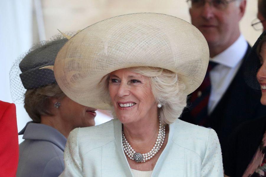 La duchesse de Cornouailles Camilla à Windsor, le 13 juin 2016