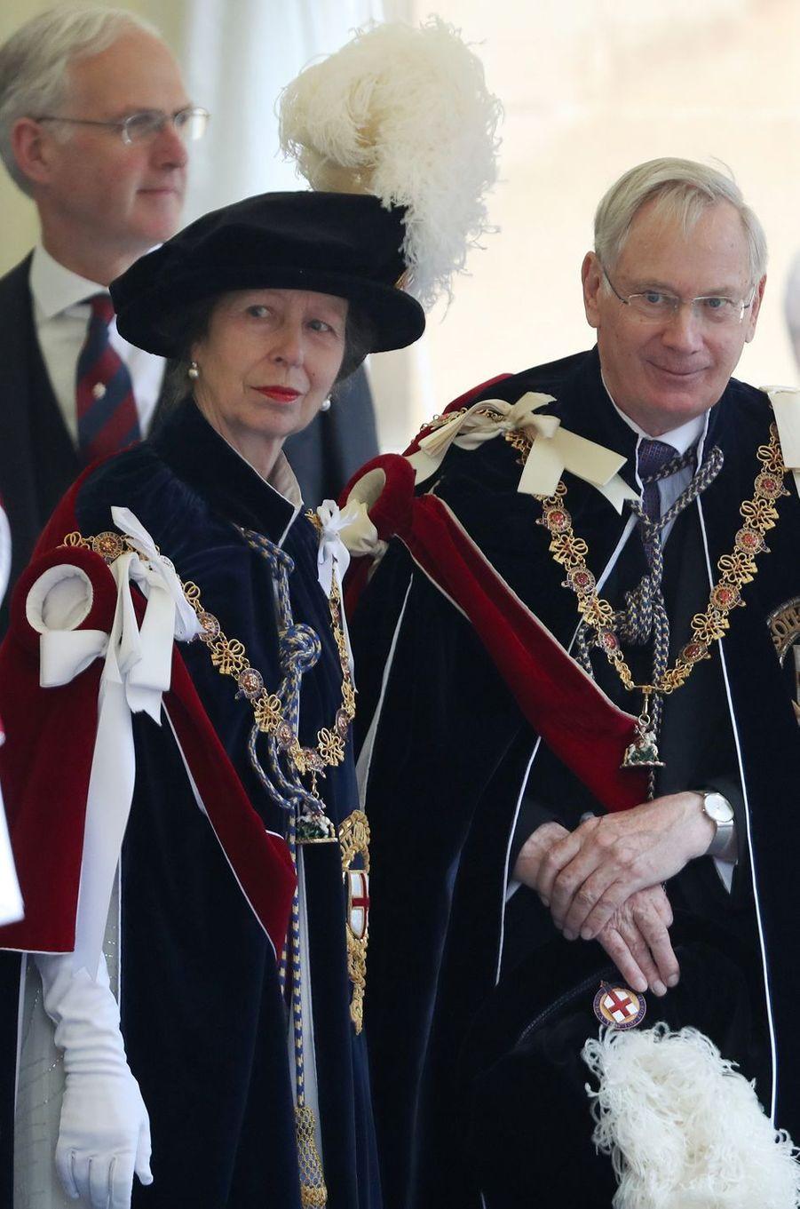 La princesse Anne à Windsor, le 13 juin 2016