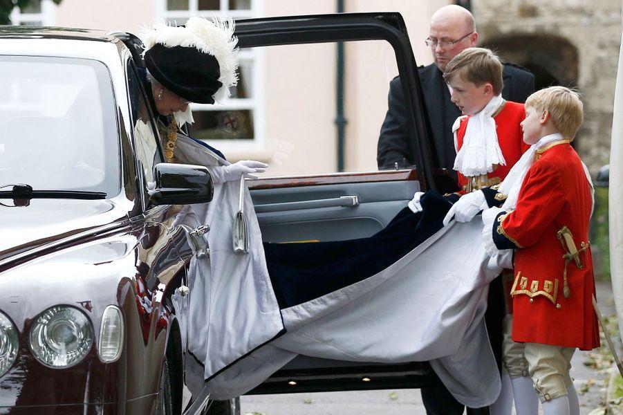 La reine Elizabeth II à Windsor, le 13 juin 2016
