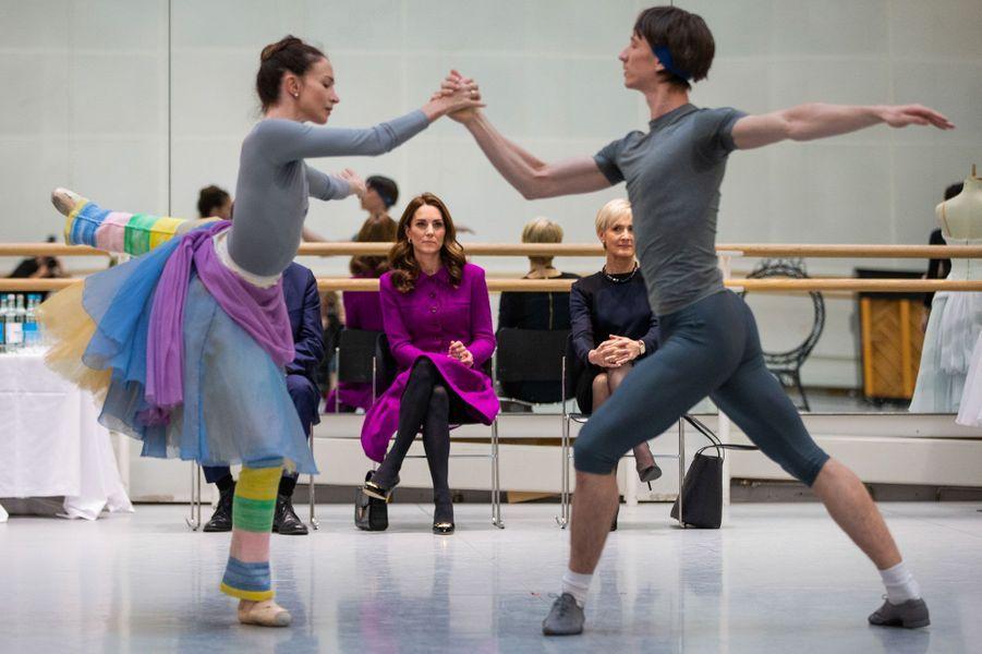 Kate visite le Royal Opera House mercredi 16 janvier 2019