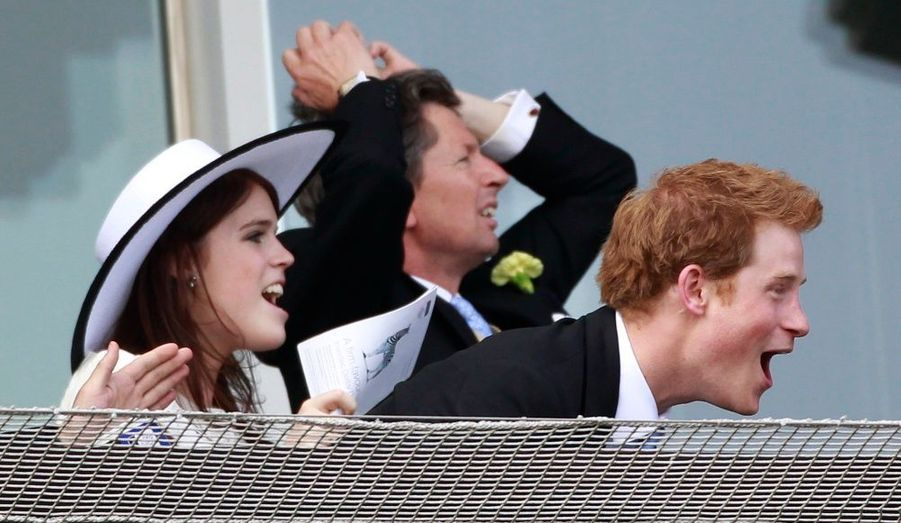 Harry et Eugenie