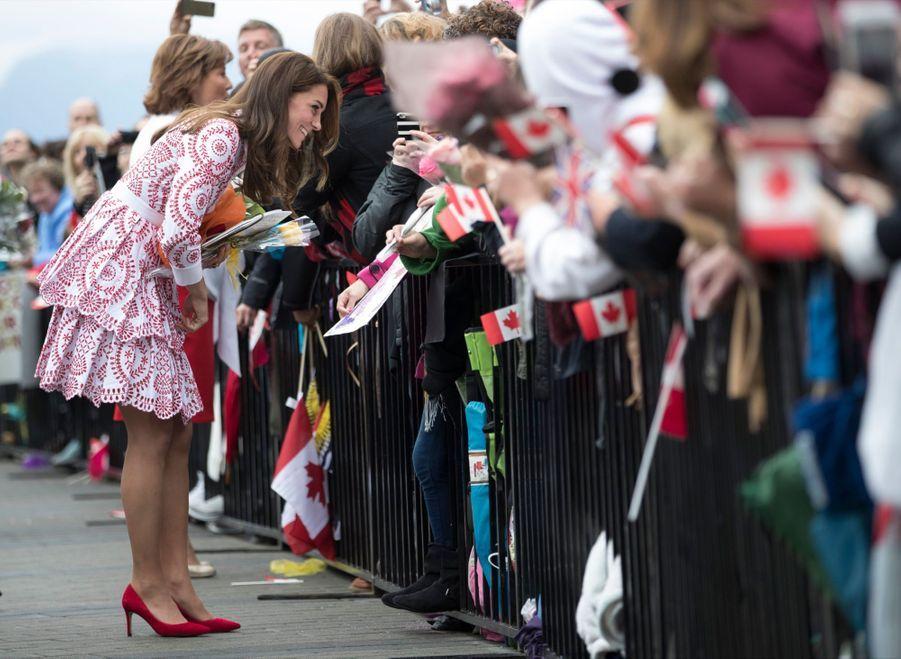 Kate Middleton et le prince William à Vancouver