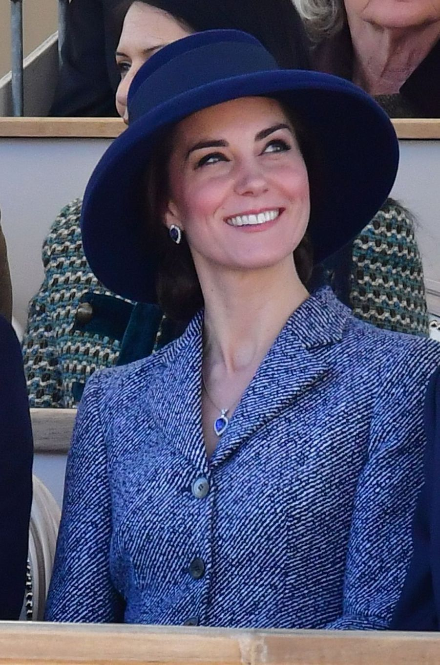 La duchesse de Cambridge, née Kate Middleton, à Londres le 9 février 2017