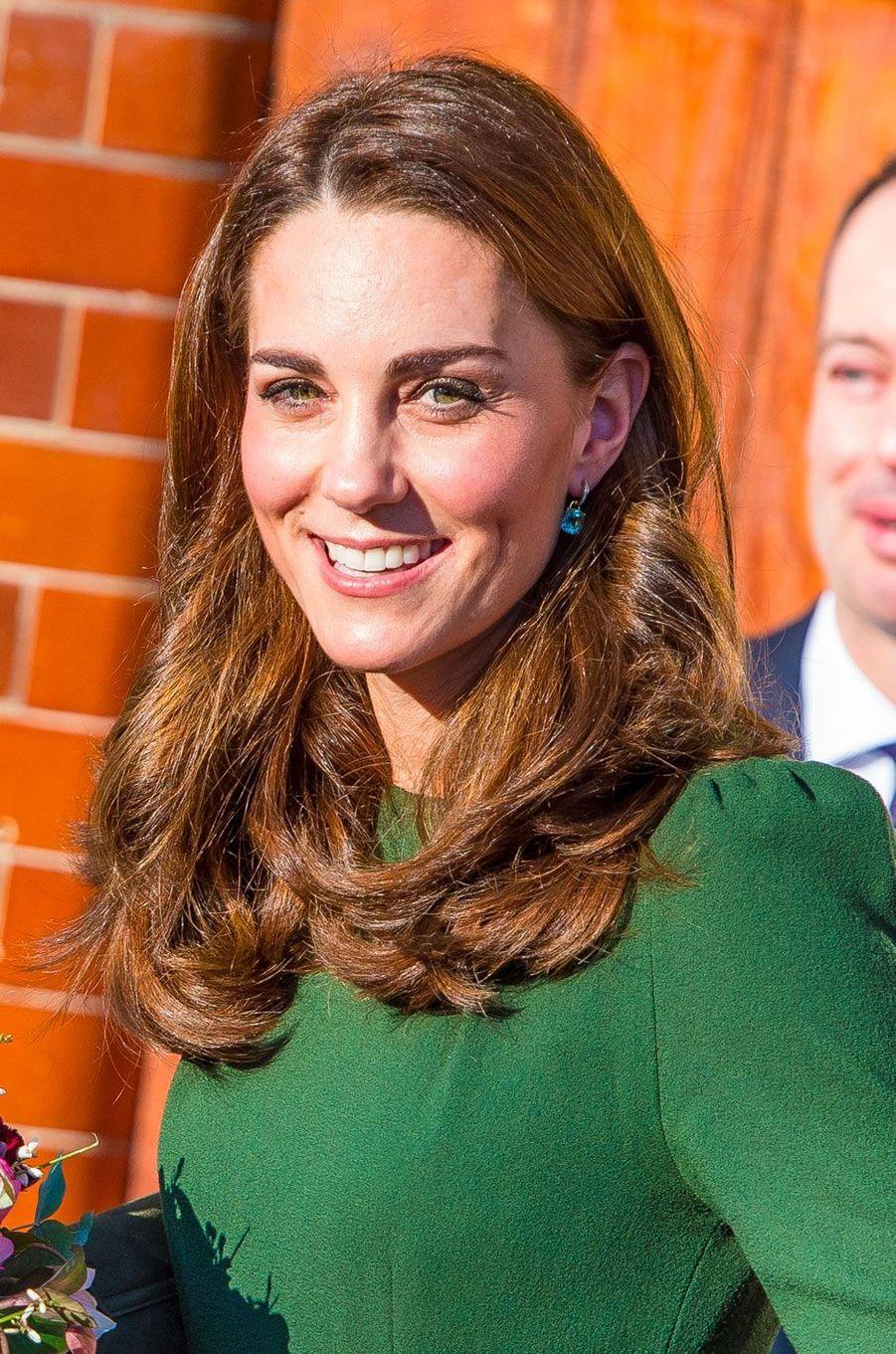 Kate visite la Family Action de Lewisham le 22 janvier 2019