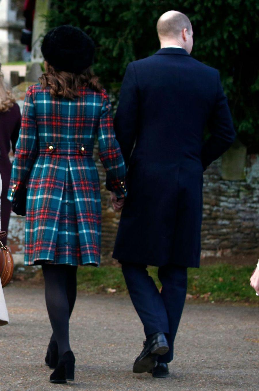 La duchesse Catherine de Cambridge, le 25 décembre 2017