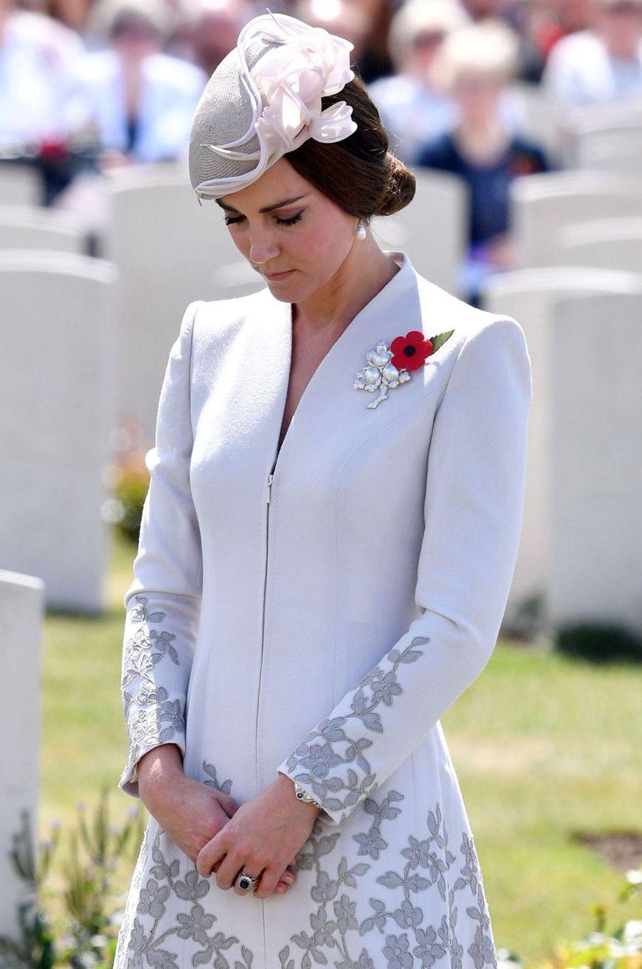 La duchesse Catherine de Cambridge, le 31 juillet 2017