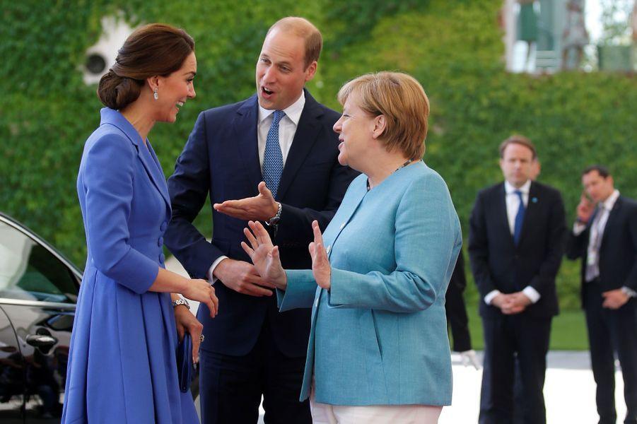 La duchesse Catherine de Cambridge, le 19 juillet 2017