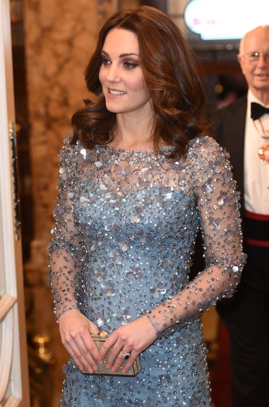 La duchesse Catherine de Cambridge, le 24 novembre 2017