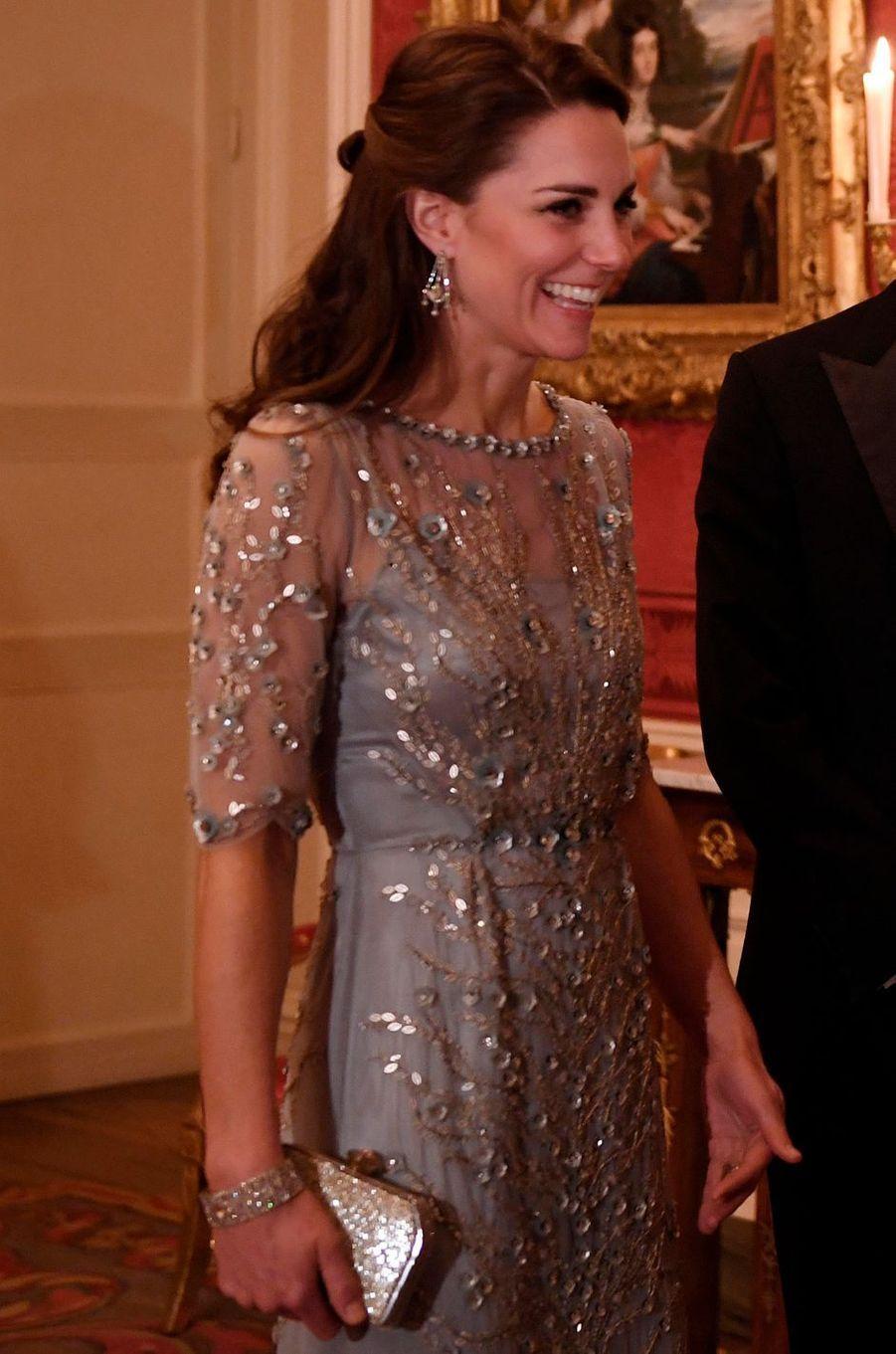 La duchesse Catherine de Cambridge, le 17 mars 2017