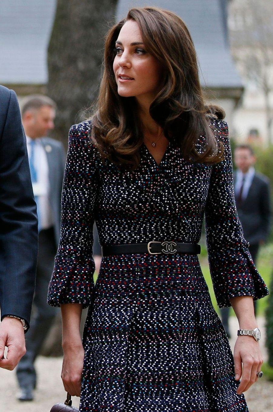 La duchesse Catherine de Cambridge, le 18 mars 2017