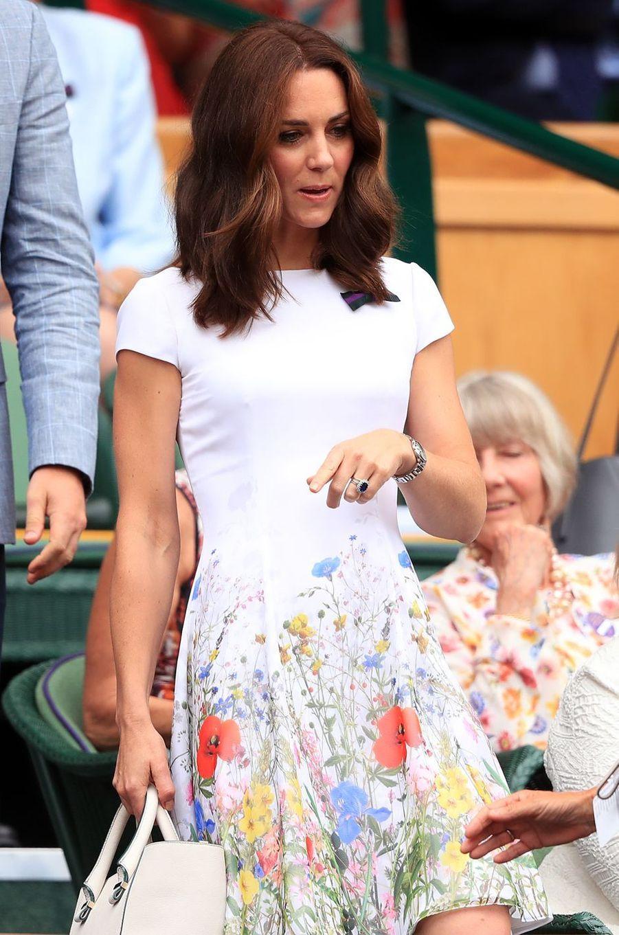 La duchesse Catherine de Cambridge, le 16 juillet 2017