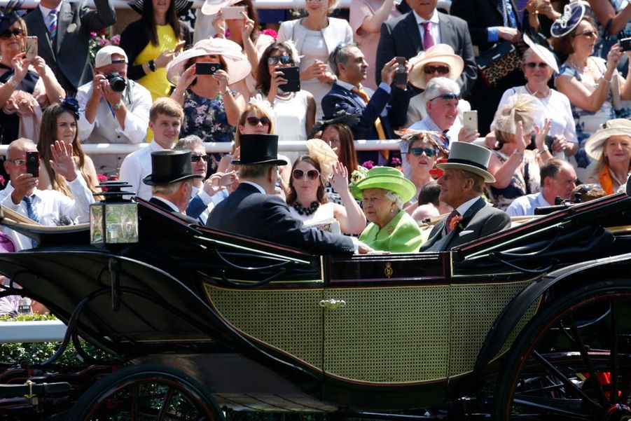 Les Windsor Au Royal Ascot 13