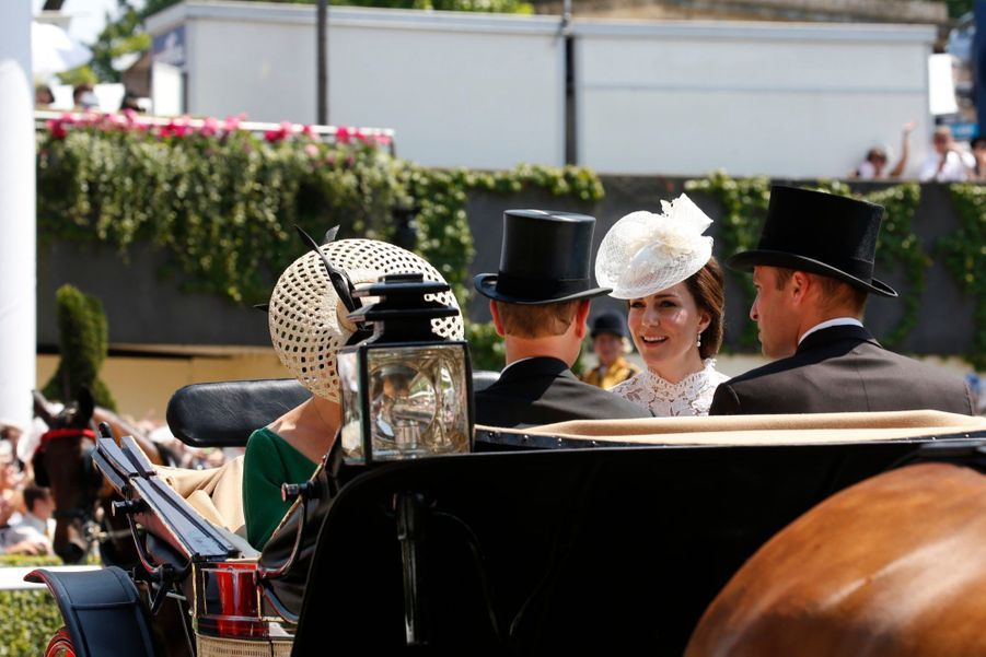 Les Windsor Au Royal Ascot 15