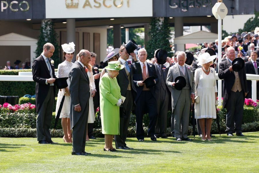 Les Windsor Au Royal Ascot 16