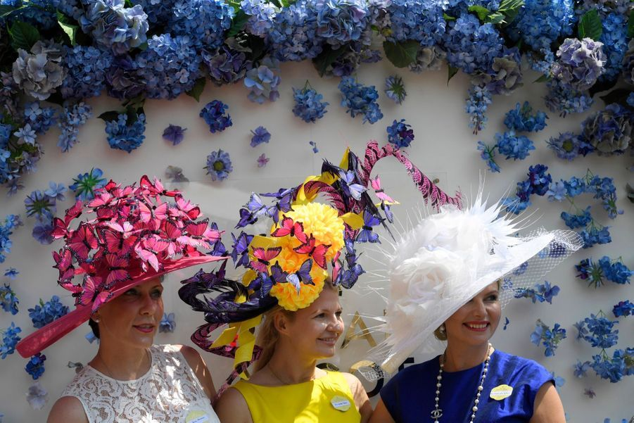 Les Windsor Au Royal Ascot 19