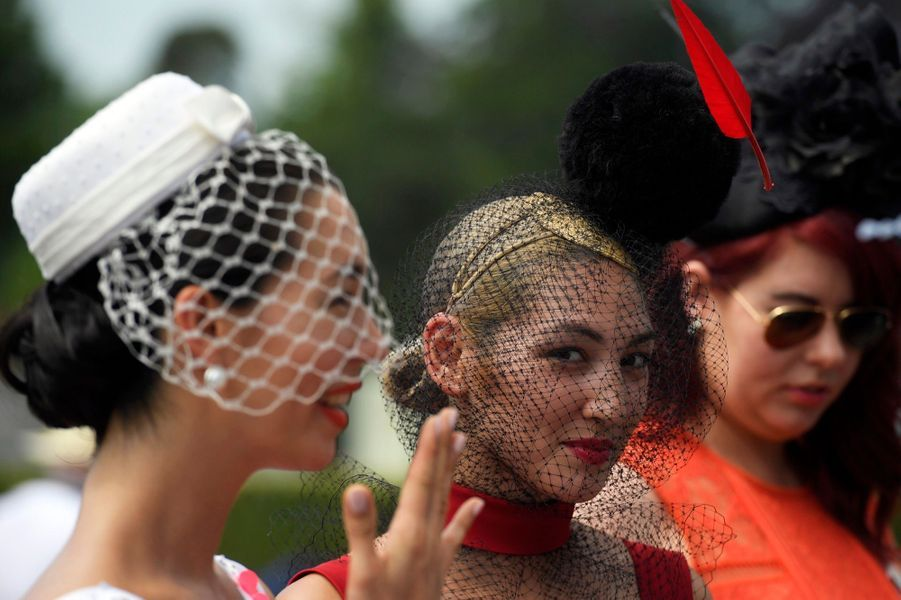 Les Windsor Au Royal Ascot 20