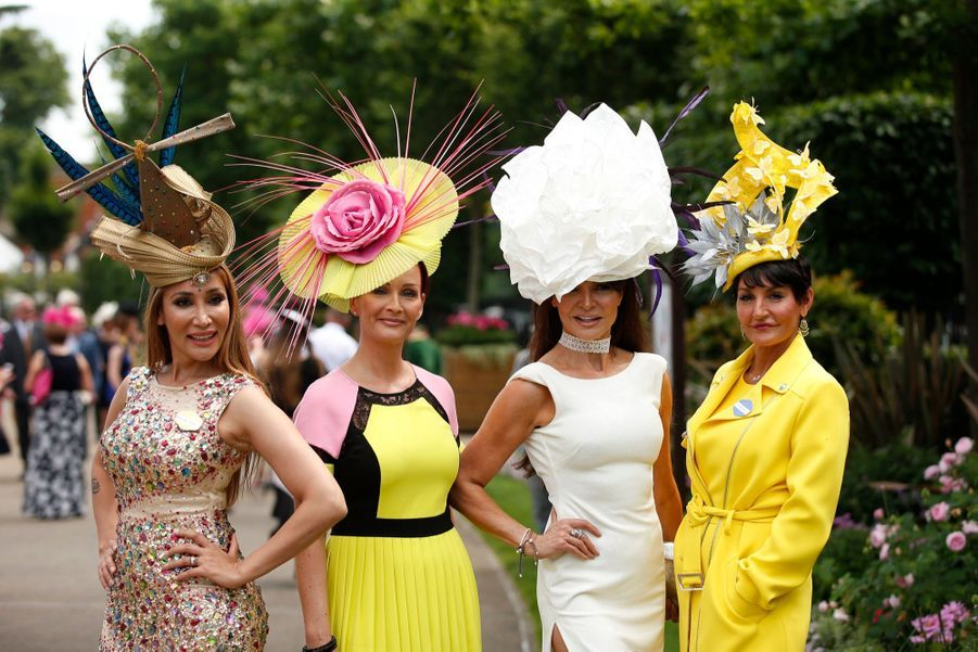 Les Windsor Au Royal Ascot 21