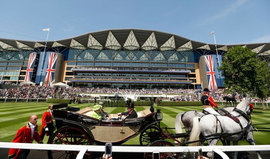 Les Windsor Au Royal Ascot 23