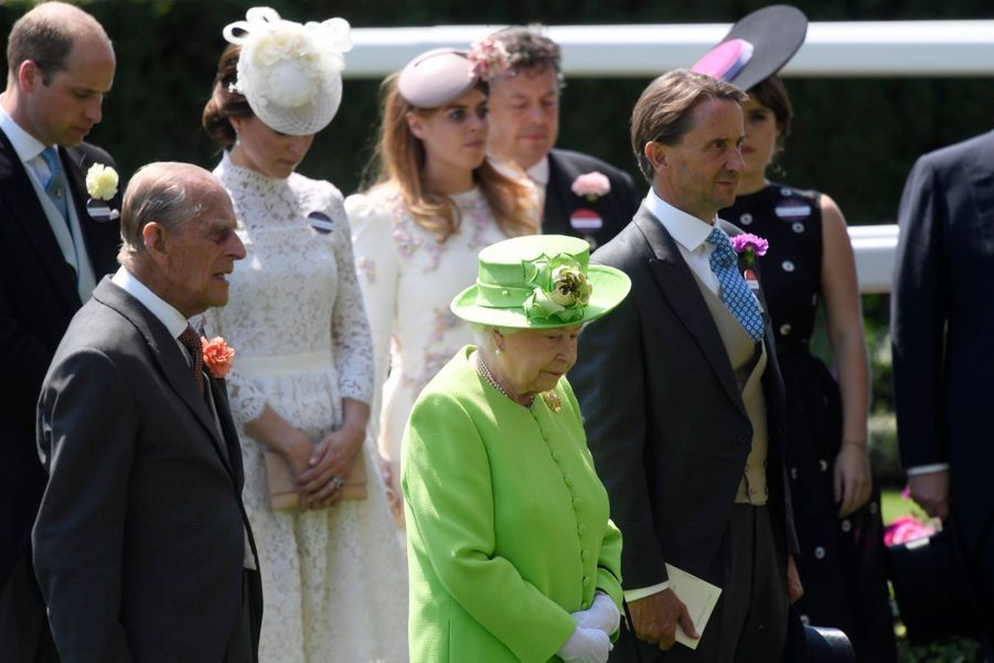 Les Windsor Au Royal Ascot 34