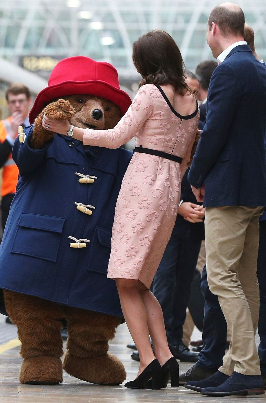 Kate Middleton à Londres, le 16 octobre 2017