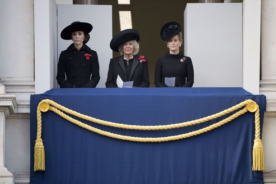 Kate, solennelle pour le Remembrance Sunday