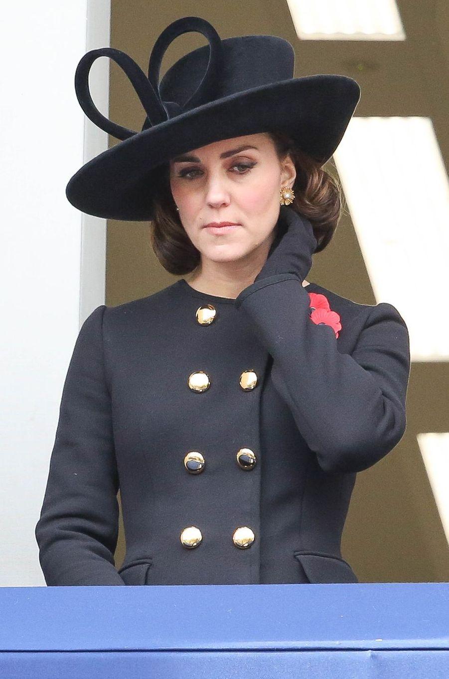 La duchesse Catherine de Cambridge à Londres, le 12 novembre 2017