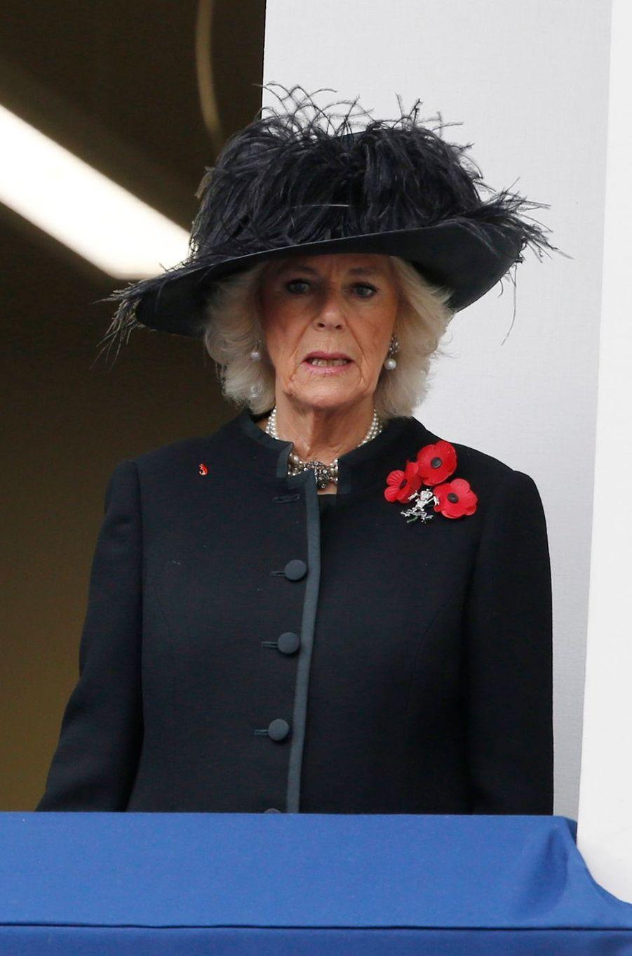 La duchesse de Cornouailles Camilla à Londres, le 12 novembre 2017