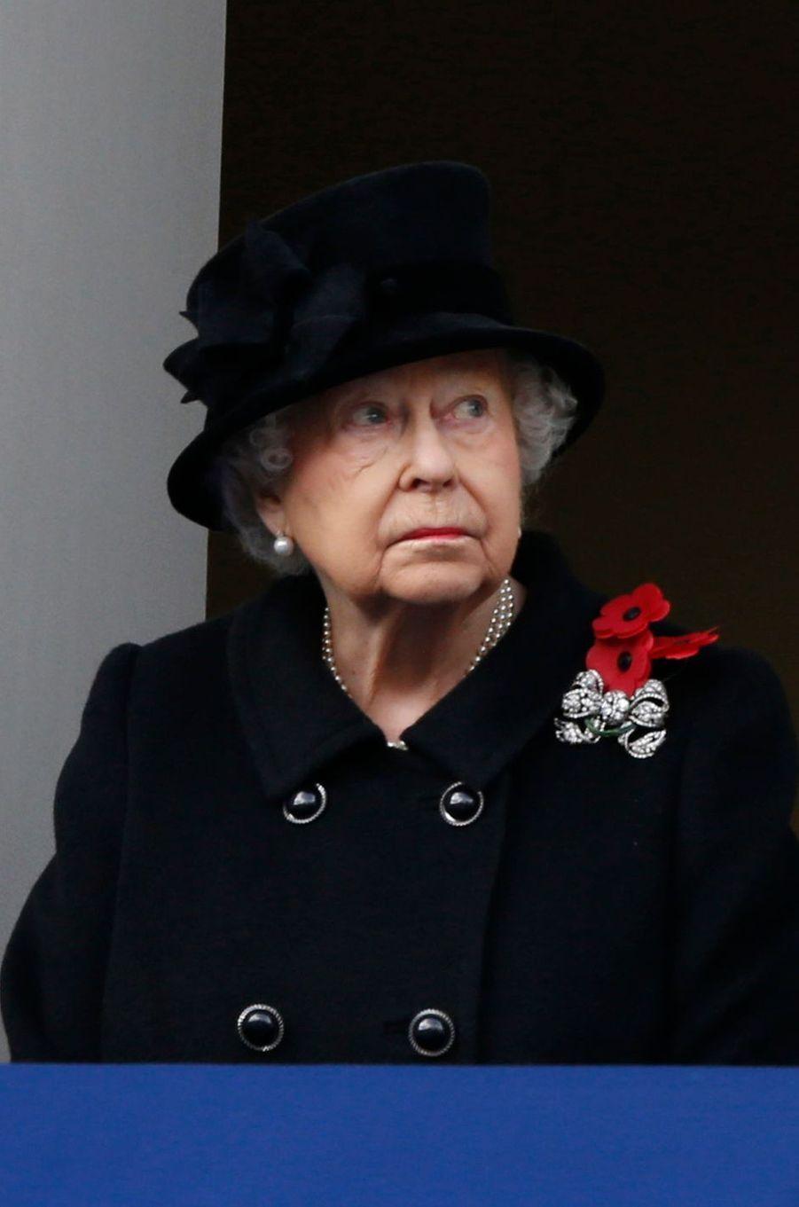 La reine Elizabeth II à Londres, le 12 novembre 2017