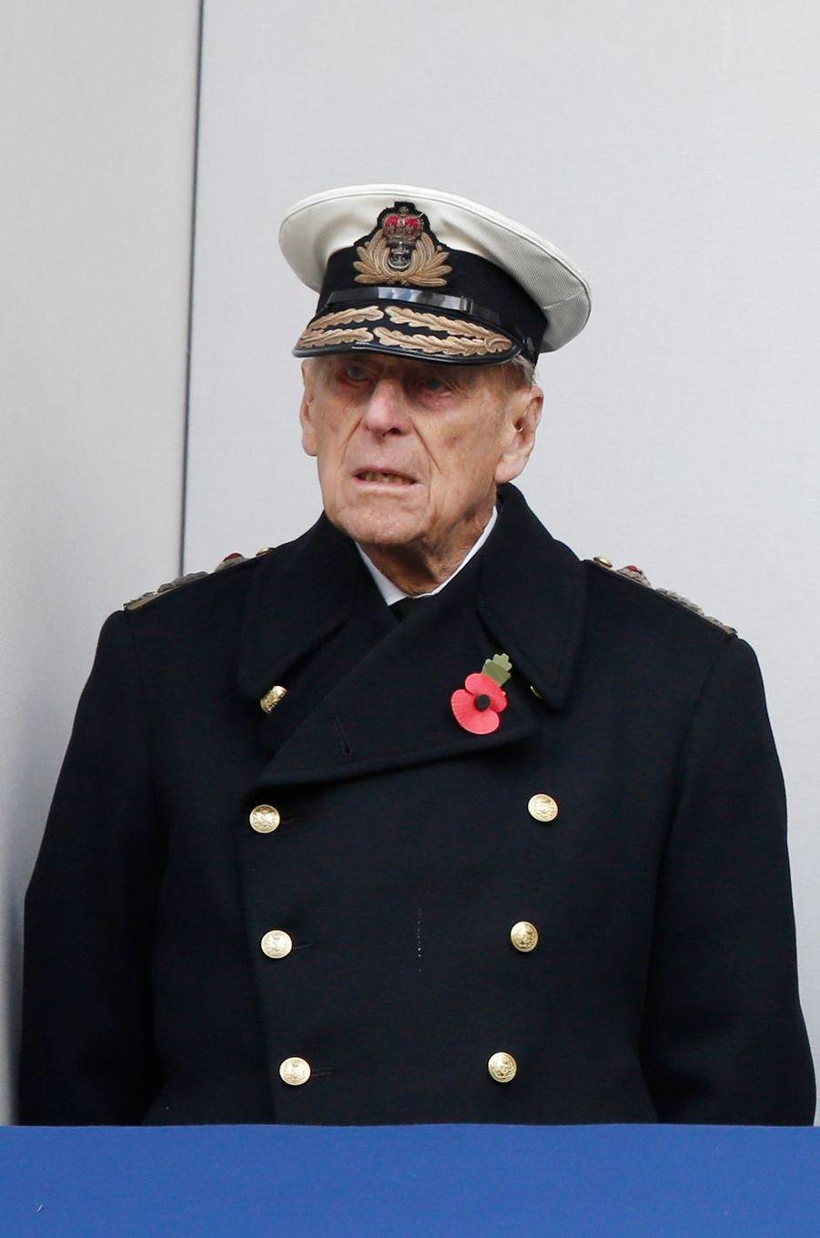 Le prince Philip à Londres, le 12 novembre 2017