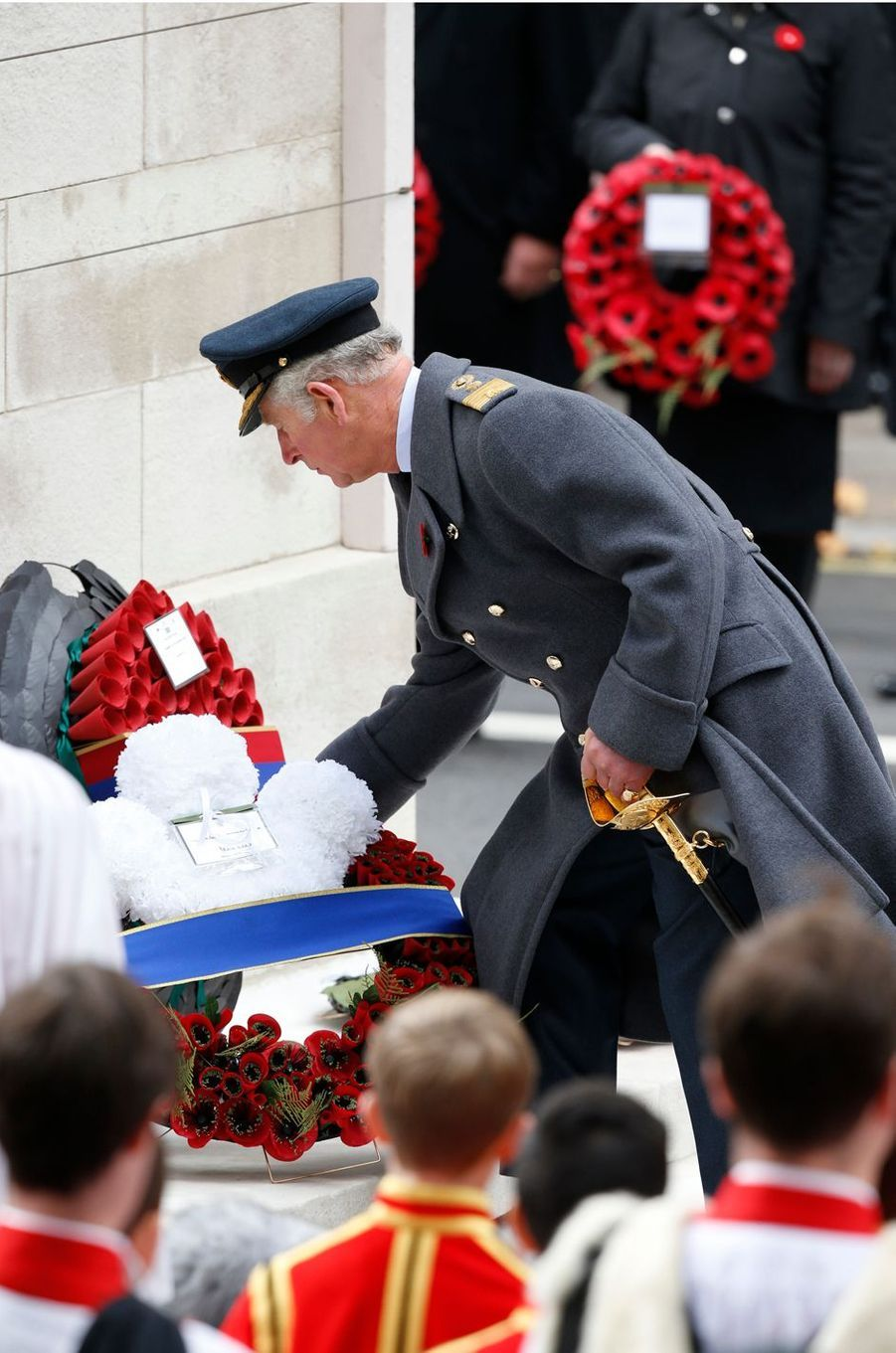 Le prince Charles à Londres, le 12 novembre 2017