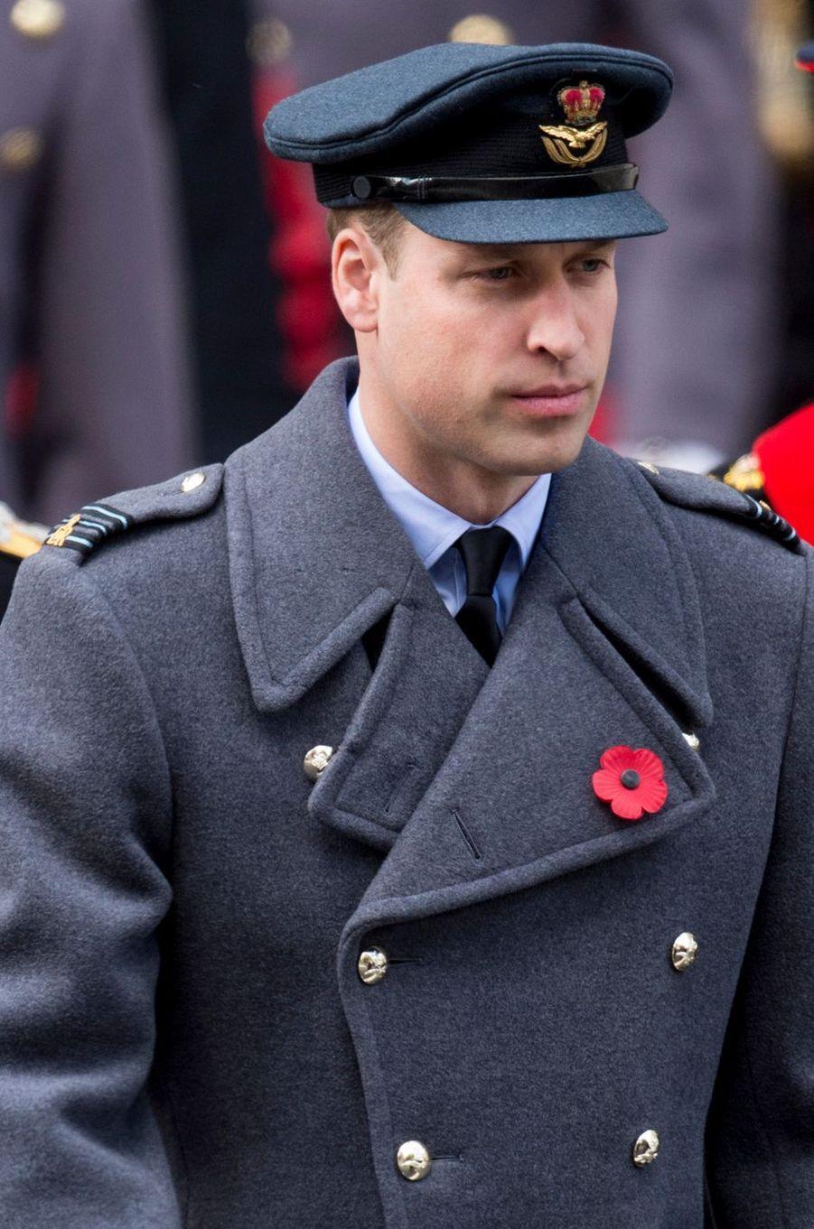 Le prince William à Londres, le 12 novembre 2017