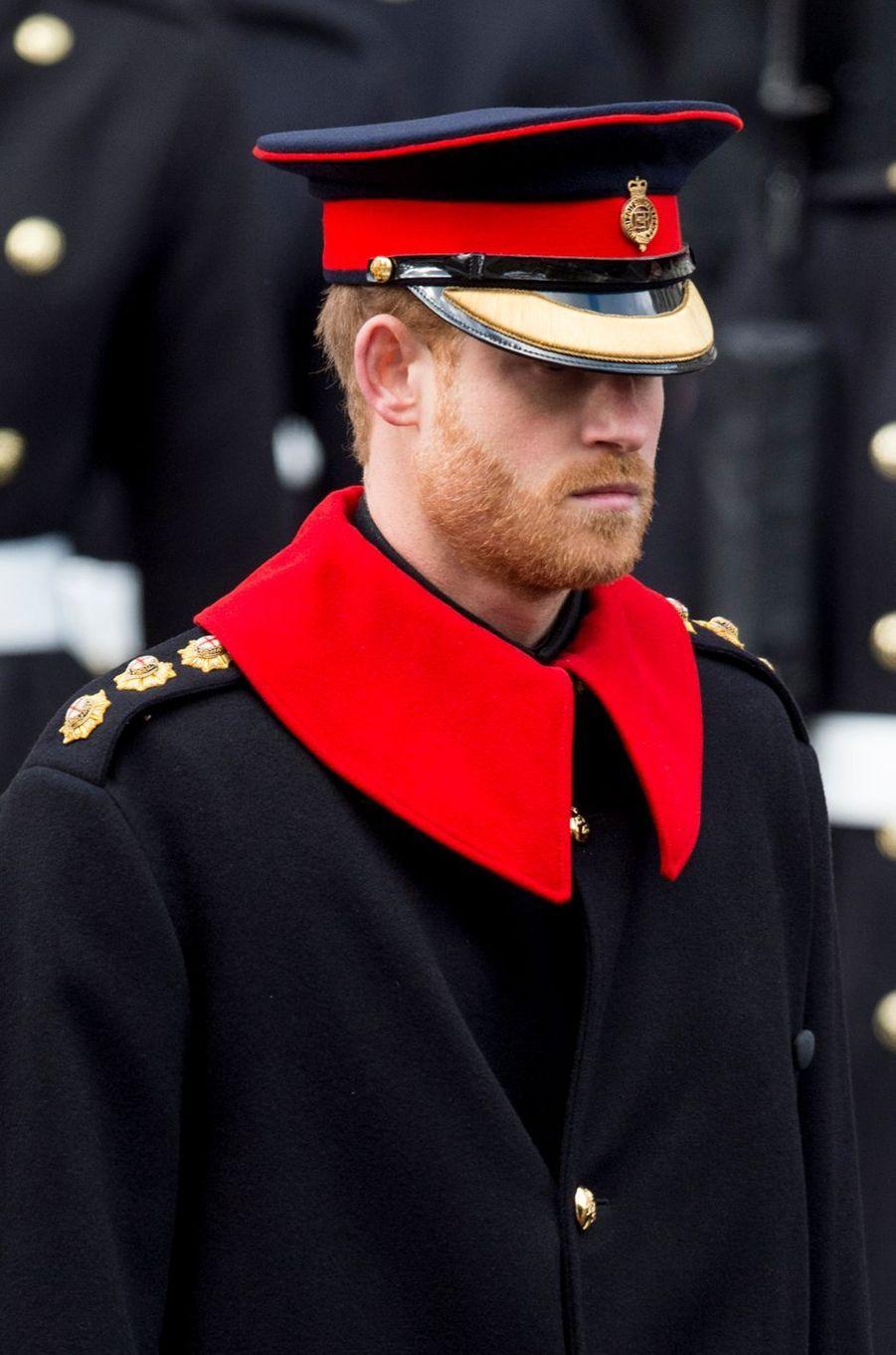 Le prince Harry à Londres, le 12 novembre 2017
