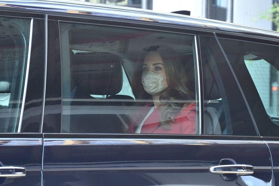 Kate Middleton à Londres le 20 octobre 2020