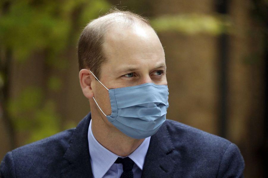 Le prince Williamà Londres le 20 octobre 2020