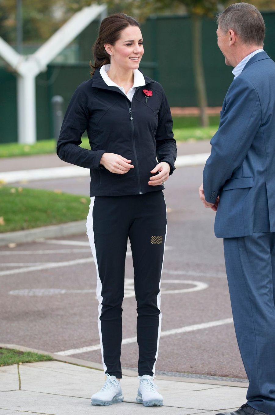 Kate Middleton à Londres, le 31 octobre 2017