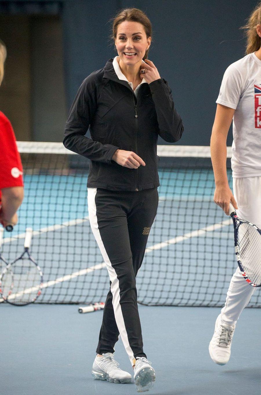La duchesse Catherine de Cambridge à Londres, le 31 octobre 2017