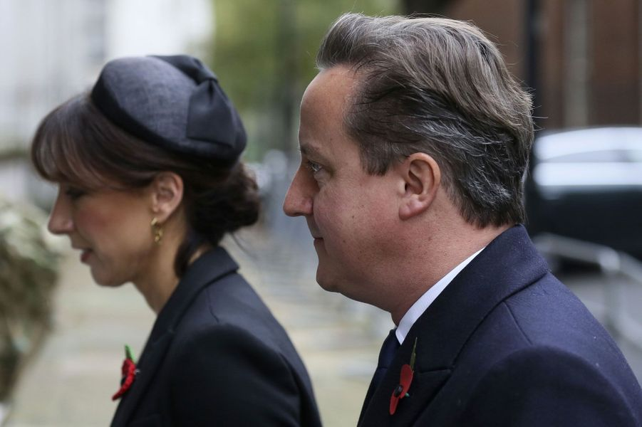David et Samantha Cameron