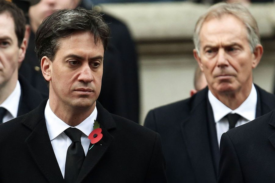 Ed Miliband et Tony Blair