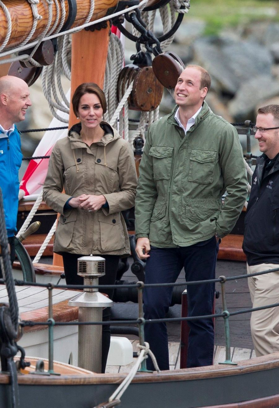 Kate vogue avec grâce