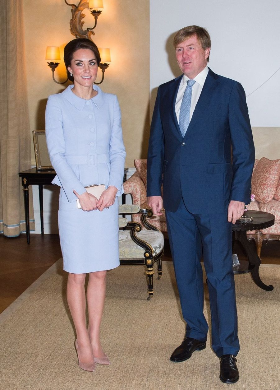 Kate Middleton et le roi Willem-Alexander des Pays-Bas