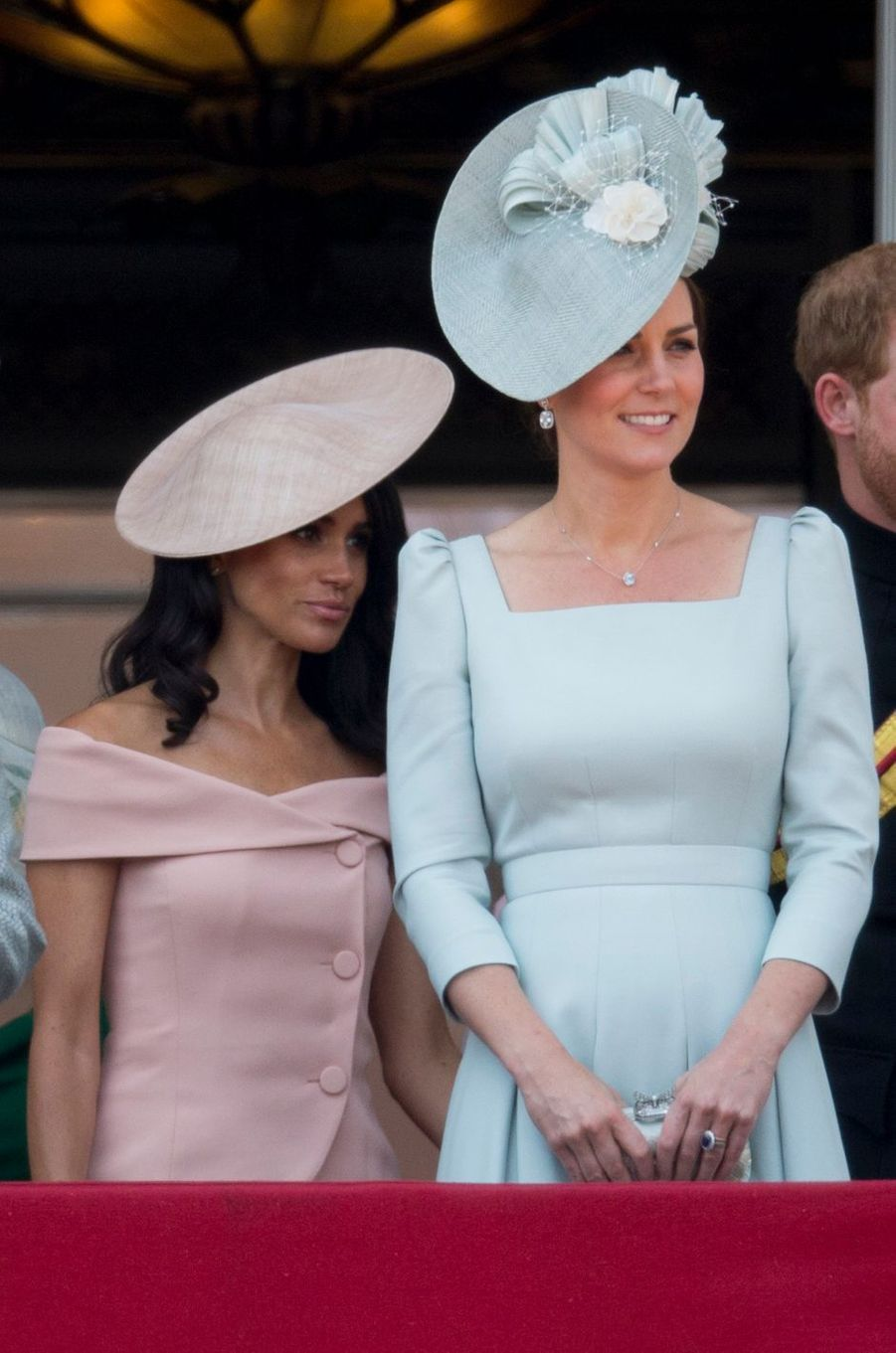 Les duchesses Meghan de Sussex et Catherine de Cambridge à Londres, le 9 juin 2018