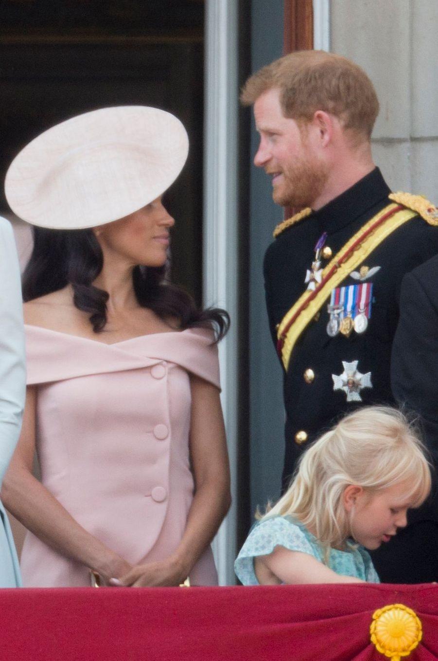 Meghan Markle et le prince Harry à Londres, le 9 juin 2018