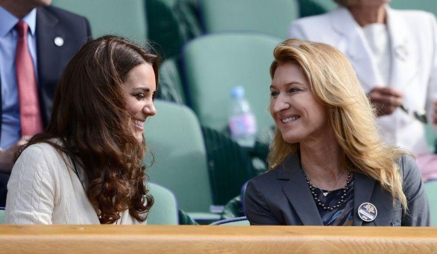 Kate et Steffi Graf