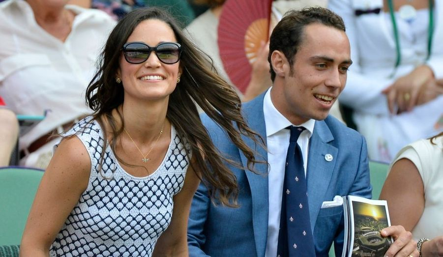 Pippa et James Middleton